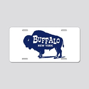 Buffalo New York Aluminum License Plate