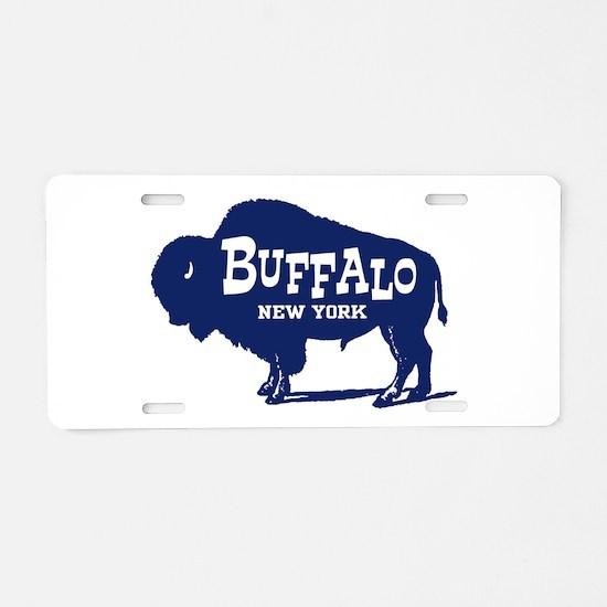 Buffalo New York Aluminum License Plate