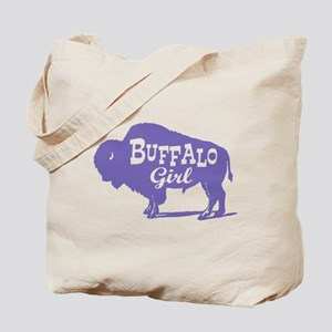 Buffalo Girl Tote Bag