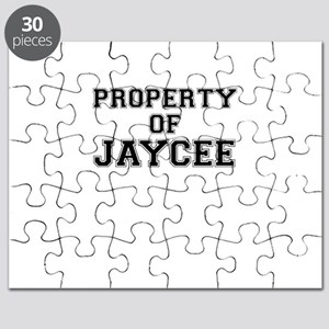 Property of JAYCEE Puzzle
