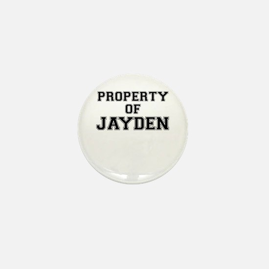 Property of JAYDEN Mini Button