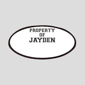 Property of JAYDEN Patch