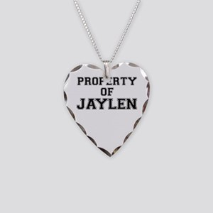 Property of JAYLEN Necklace Heart Charm