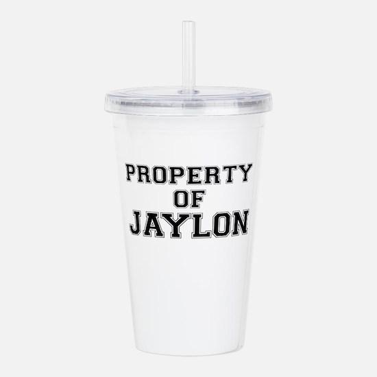 Property of JAYLON Acrylic Double-wall Tumbler