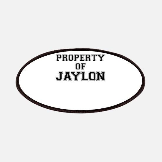 Property of JAYLON Patch
