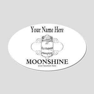Homemade Moonshine Wall Decal