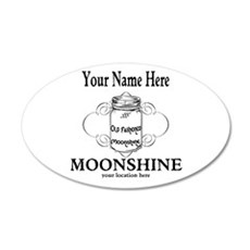 Homemade Moonshine Wall Decal