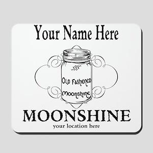 Homemade Moonshine Mousepad