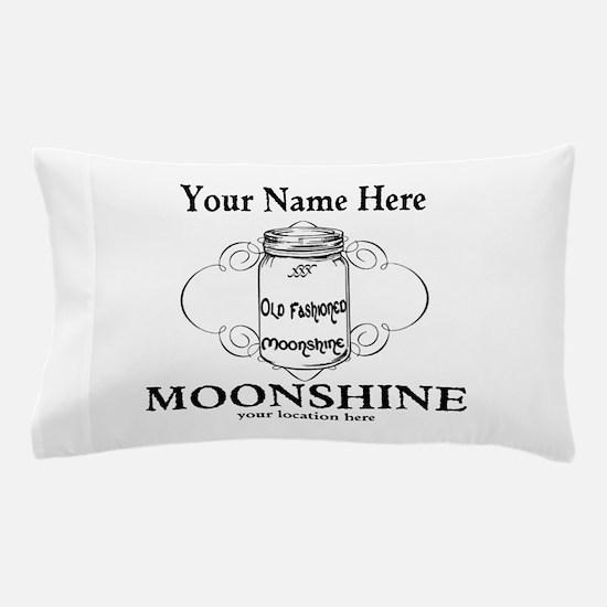 Homemade Moonshine Pillow Case