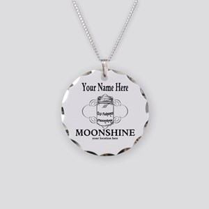 Homemade Moonshine Necklace