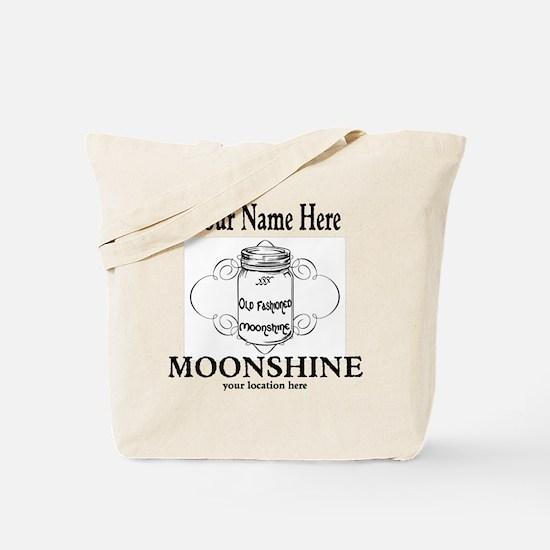 Homemade Moonshine Tote Bag