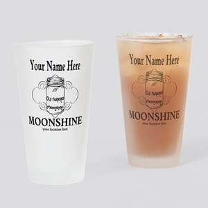 Homemade Moonshine Drinking Glass