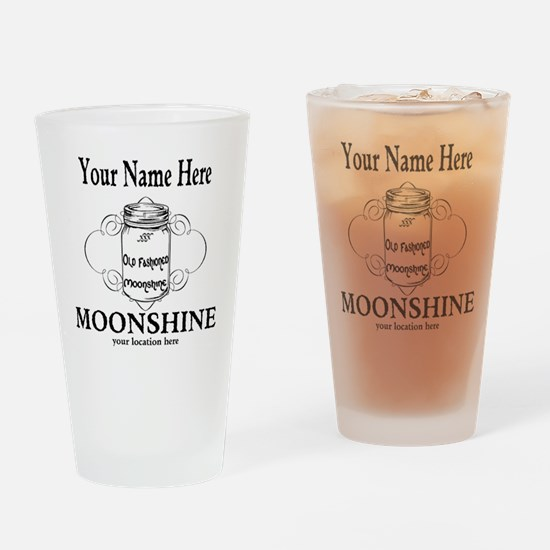 Homemade Moonshine Drinking Glass