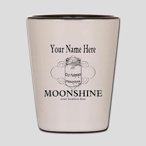 Homemade Moonshine Shot Glass