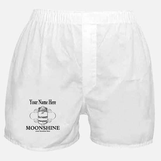 Homemade Moonshine Boxer Shorts