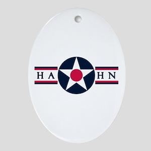 Hahn Air Base Oval Ornament