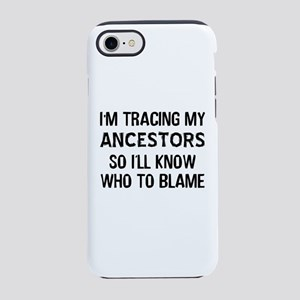Funny Genealogy iPhone 8/7 Tough Case