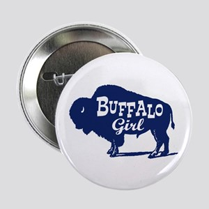 """Buffalo Girl 2.25"""" Button"""