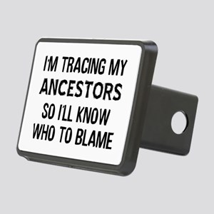 Funny Genealogy Rectangular Hitch Cover
