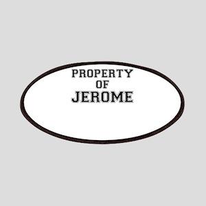 Property of JEROME Patch
