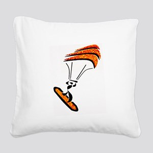 KITEBOARD Square Canvas Pillow