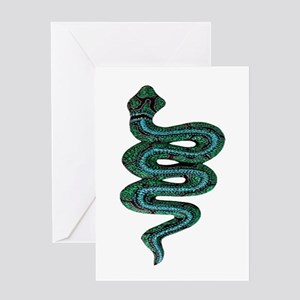 SERPENT Greeting Cards