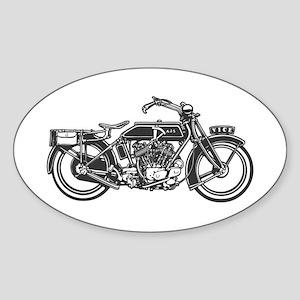 Vintage Vice Oval Sticker