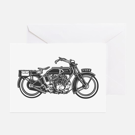 Vintage Vice Greeting Cards (Pk of 10)