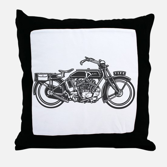 Vintage Vice Throw Pillow
