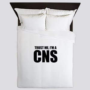 Trust Me, I'm A CNS Queen Duvet