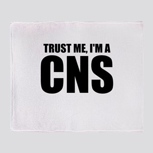 Trust Me, I'm A CNS Throw Blanket