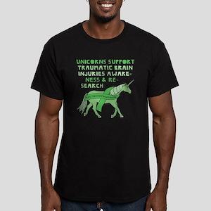 Unicorns Support Traumatic Brain Injuries T-Shirt
