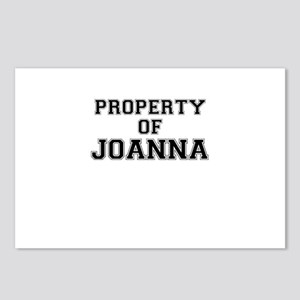 Property of JOANNA Postcards (Package of 8)