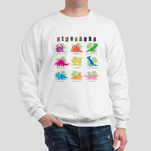 dinosaurs 9 Sweatshirt