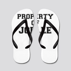 Property of JOELLE Flip Flops