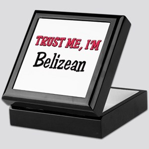 Trusty Me I'm Belizean Keepsake Box