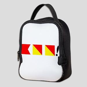 Boo! Nautically Speaking Neoprene Lunch Bag