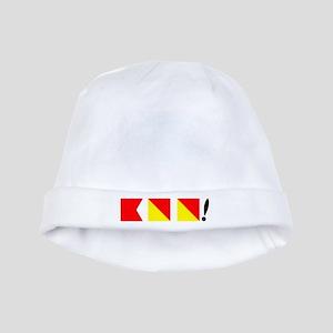 Boo! Nautically Speaking baby hat