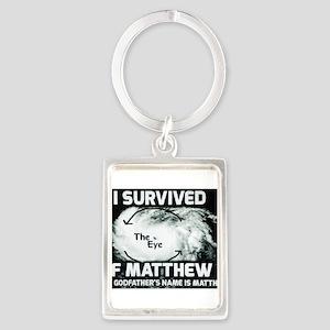 Hurricane Matthew Godfather Keychains