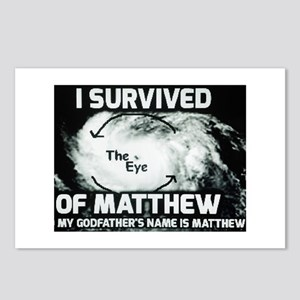 Hurricane Matthew Godfather Postcards (Package of