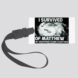 Hurricane Matthew Godfather Luggage Tag