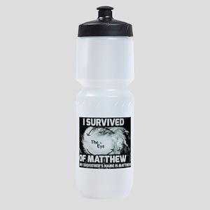 Hurricane Matthew Godfather Sports Bottle