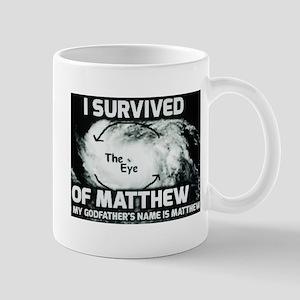 Hurricane Matthew Godfather Mugs