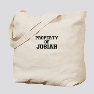 Property of JOSIAH Tote Bag