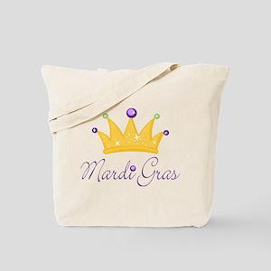 Mardi Gras King Queen Tote Bag