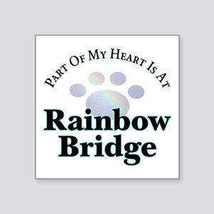 Rainbow Bridge Rainbow Paw Sticker