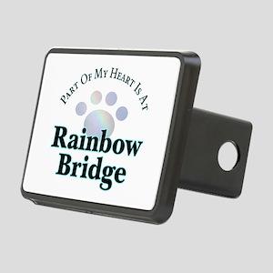 Rainbow Bridge Paw Rectangular Hitch Cover