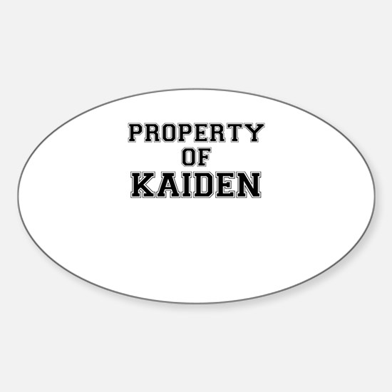 Property of KAIDEN Decal