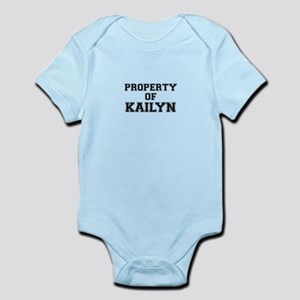 Property of KAILYN Body Suit