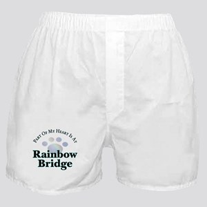 Rainbow Bridge Rainbow Paw Boxer Shorts